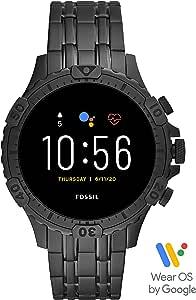 Fossil Smartwatch GEN 5 Connected da Uomo con Touchscreen, Altoparlante, Frequenza Cardiaca, GPS, NFC e Notifiche per Smartphone