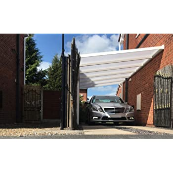 kc kit canopy polycarbonate diy carportveranda or patio cover size 3m wide
