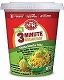MTR 3 Minute Breakfast Khatta Meetha Poha Cup, 80g