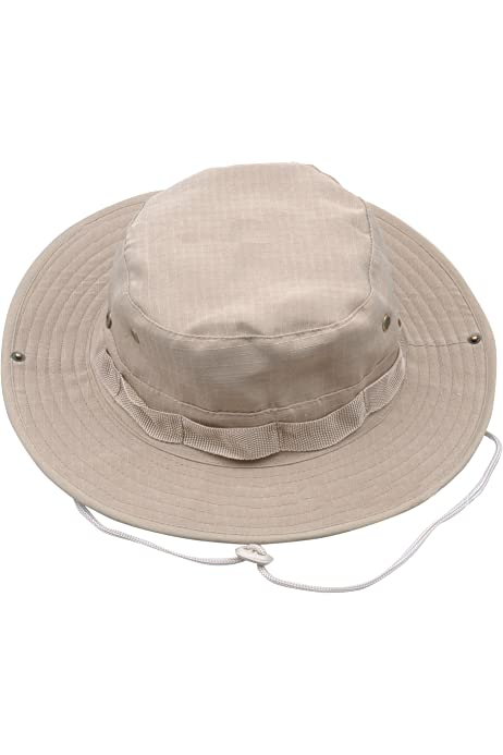 Village Hats Einfacher Booney Fischerhut Olivgr/ün