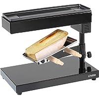 LIVOO DOC159 Appareil à Raclette Traditionnel pour Quart de Meule | Thermostat Socle Pivotant, Inclinable et Réglable en…