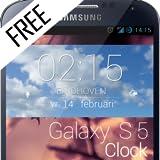 Galaxy S5 clock FREE