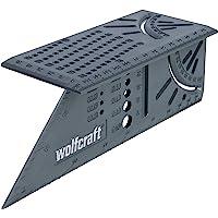 Wolfcraft 5208000 Équerre 3D d'onglet 150 x 275 x 66 mm gris
