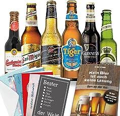 Biere aus aller Welt | Bierbuch + Urkunden | Geschenk zum Geburtstag