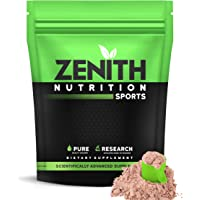 Zenith Nutrition Whey Protein with Enzymes for Digestion | 26g protein (Double Rich Chocolate, 525gms)