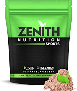 Zenith Nutrition Mass Gainer++ with Enzyme blend   17gm Protein   51gm Carbs   Added Glutamine   Lab tested (Double Rich Chocolate 750 gms)