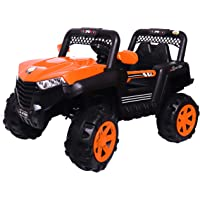 SHAKYA WORLD The Hawk Battery Car Jeep for 1 to 7 Years Kids/Children/Toddlers with Mobile Application Control , 12V…