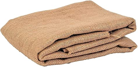 Jute N Fabrics,Laminated Rocket Natural Color Jute Fabric, 51 inch Width ONE MTR Packing, Used for Making Jute Bags, Art & Craft,Home DECORE, Matting