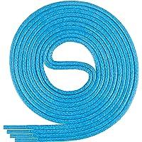Di Ficchiano runde gewachste Schnürsenkel für Business, Anzug- und Lederschuhe - ø 2-4 mm - Längen 45cm - 200 cm - sehr…