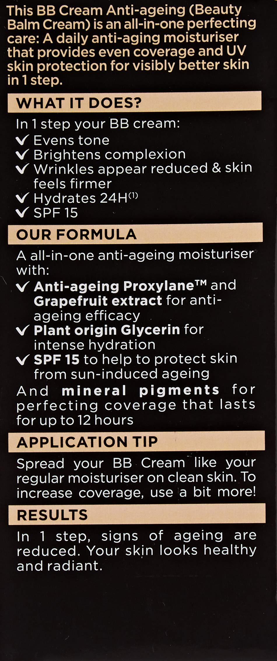 Garnier SkinActive – BB Cream Anti-edad, Clear/Light – 50ml