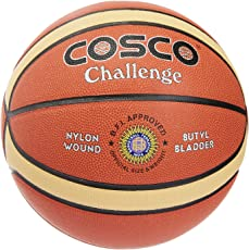 Cosco Challenge Basket Ball, Size 7 (Orange)
