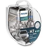 Philips X-tremeVision Pro150 H7 bombilla faros delanteros +150%, paquete doble