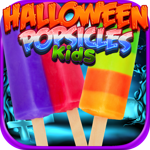 Halloween Ice Popsicles - Kids Ice Cream FREE (Chocolate Cookies Chip Halloween)
