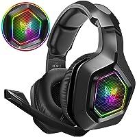 DIZA100 Gaming Headset für PS4 PC Xbox One, 3.5mm Surround Sound Kabelgebundenes…