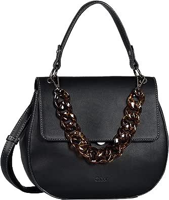 Gabor Amara, Flap Bag M No Zip Donna, Nero, M