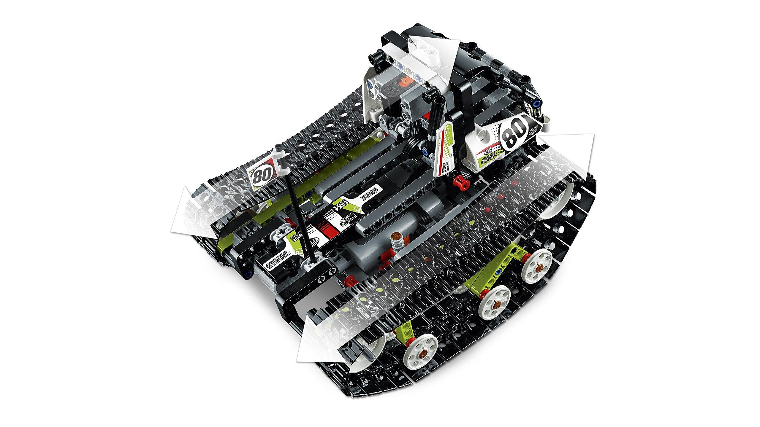 lego technic ferngesteuerter tracked racer ferngesteuertes auto. Black Bedroom Furniture Sets. Home Design Ideas