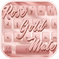 Rose Gold Mettle Keyboard Theme