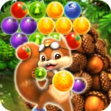 Pop The Fruit 2 : Puzzle Candy Bubble (Acorn to Catch) - from Panda Tap Mania Games