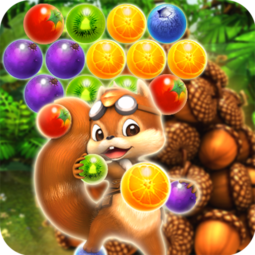 Pop The Fruit 2 : Puzzle Candy Bubble (Acorn to Catch) - from Panda Tap Mania - Einfach Halloween-party-spiele Spaß