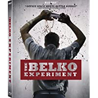 The Belko Experiment (Uncut) [Blu-ray] (2016)  Includes SlipCover   Imported from USA   20th Century Fox   89 min   Region Free   Action Horror Thriller   Director: Greg McLean   Starring: John Gallagher Jr., Tony Goldwyn, Adria Arjona