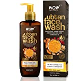 WOW Skin Science Ubtan Face Wash with Chickpea Flour, Turmeric, Saffron, Almond Extract, Rose Water & Sandalwood Oil - No Sul
