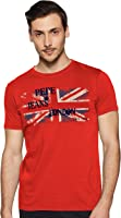 Pepe Jeans Men's Printed Slim fit T-Shirt