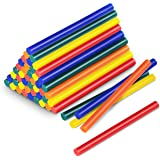 TROTEC Trotec-623000111 Accessoires Gun-Glue Sticks, 11 mm, kleurrijk, 50 stuks, ijzer, Cranberry