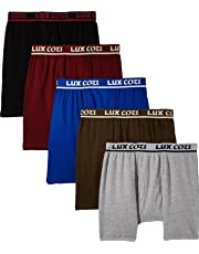 Lux Cozi Bigshot Long Underwear for Men - Pack of 5