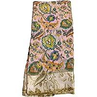 ANNI DESIGNER Women's Ikat Cotton Pochampally Saree with Blouse Piece