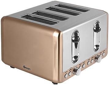 swan brand st14050copn 4 slice toaster copper  amazon co uk  kitchen  u0026 home swan brand st14050copn 4 slice toaster copper  amazon co uk      rh   amazon co uk