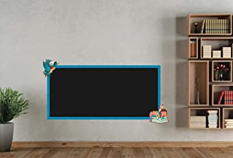 doodad It's Study Time Removable Classic Blackboard, Standard Size (Black, BB09)