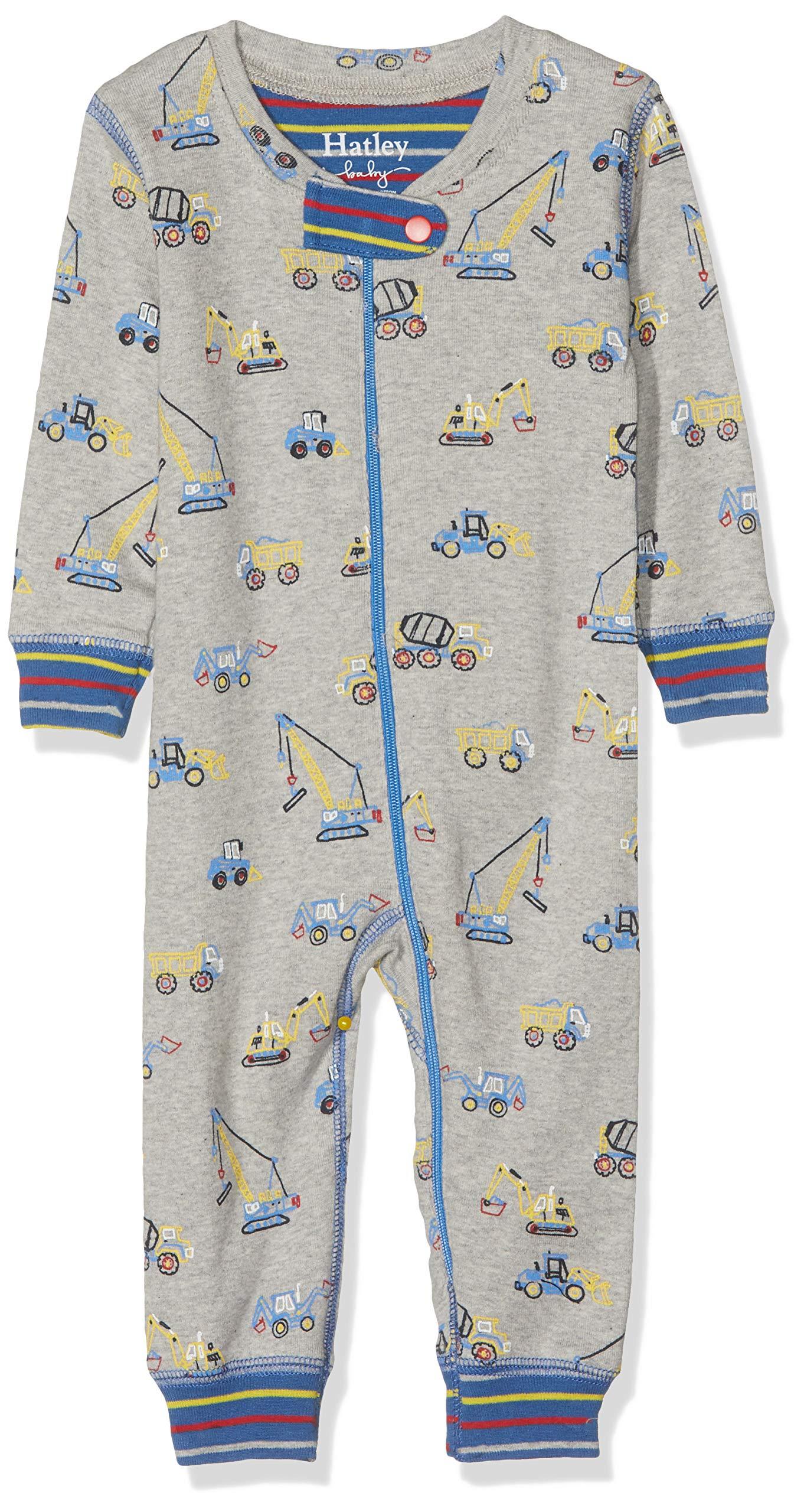 Hatley Organic Cotton Sleepsuit Pelele para Dormir para Bebés 1