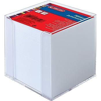 ca 10 x 10 x 10 cm gefüllt Landre; #Zettelbox# 100420107 Zettelbox weiß