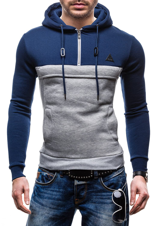 Sweatshirt Hoodie Kapuzen Sweater in Trend Farben STEGOL
