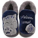 Vunavueya Pantofole per Unisex - Bambini e Adulto Ragazze Inverno Pantofole Scarpe Ragazzi Ciabatte Chiuse Donna Uomo Caldo P