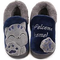 Vunavueya Pantofole per Unisex - Bambini e Adulto Ragazze Inverno Pantofole Scarpe Ragazzi Ciabatte Chiuse Donna Uomo…