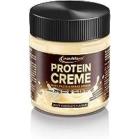 IronMaxx Protein Creme - 250g - Weiße Schokolade - Low Carb Brot-Aufstrich mit bis zu 30% Proteingehalt - ideal für eine…