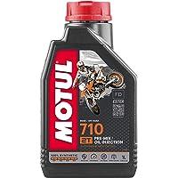 Motul - 104034 - Huile de moteur 2T 710 - 100% synthetic Ester - 1L