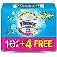 Kleenex Dry Soft Toilet Tissue Paper, 200 Sheets x 20 Rolls
