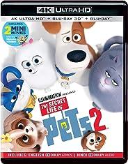 The Secret Life of Pets 2 (4K UHD + Blu-ray 3D + Blu-ray) (3-Disc)
