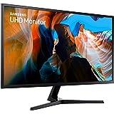 """Samsung LU32J590UQRXXU UJ590 32"""" 4K UHD Monitor - Ultra HD 3840 x 2160, HDMI, Displayport"""