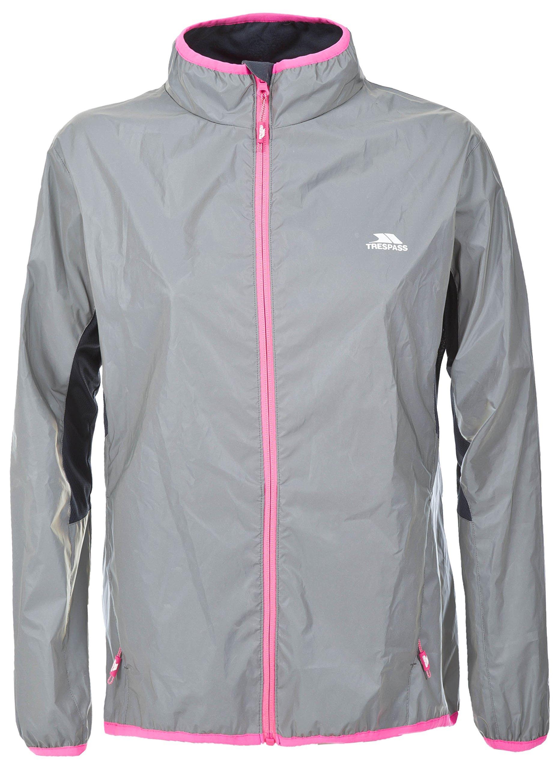 Trespass Women's Lumi Active Windproof and Waterproof Cycling and Running Outdoor Luminous Jacket 1