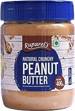 Ruparel's Natural Peanut Butter Crunchy (No Added Hydrogenated Oils, No Added Sugar or Salt) (400g)