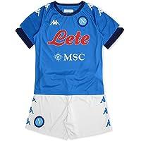 SSC NAPOLI Kit Gara Home Bambino 2020/21 Kit Gara Home Bambino 2020/21 Unisex - Bambini
