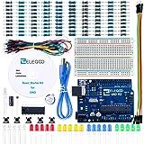 ELEGOO Conjunto Básico de Iniciación Compatible con Arduino IDE con Guías Tutorial en Español para UNO R3 Starter Kit