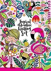 Briefpapier-Set für Kinder, Motiv: Tropisches Abenteuer