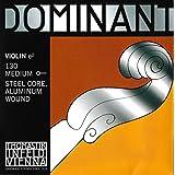Thomastik cuerda suelta para 4/4 violín dominant - cuerda mi núcleo de acero, entorchado de aluminio, mediana, bola.