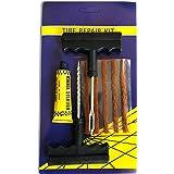 Neybra Kit de Reparación de Neumáticos - Kit Antipinchazos para Todo Tipo de Neumáticos - 5 Tiras Antipinchazos Coche - Moto