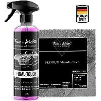 Momo's Industries® Final Touch Premium Lack Schnellversiegelung Wachsspray inkl. Microfasertuch - Auto Glanzbooster…