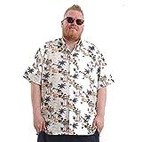 Mens Big Size Hawaiian Shirts Short Sleeve Summer Style Printed Designs